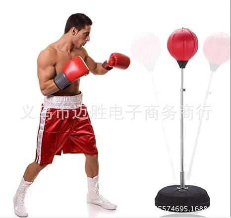 GRAYCHEN Práctica de Boxeo Altura Ajustable de pie Bola de ...