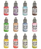 Ranger Tim Holtz Distress Oxides Ink Summer 2018-12 Re-inkers Bundle