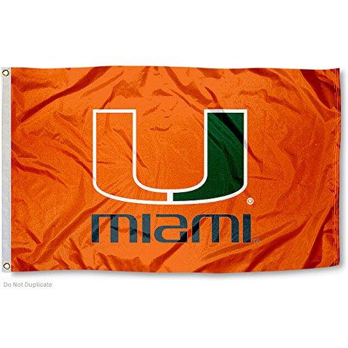 Miami Hurricanes UM Canes University Large College Flag