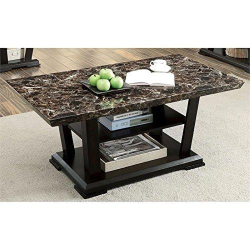 Furniture of America Juanita Contemporary Coffee Table in Dark Cherry (Cherry Contemporary Furniture)