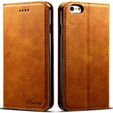 Leather Wallet Phone Case Iphone Case with Card Holder for iPhone X,8,7,6s,6+ Plus