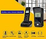 Full Duplex Wireless Voice Intercom Doorbell Scheme Non Visual Intercom Doorbell Intelligent Remote Control Unlock