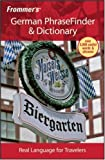 German PhraseFinder and Dictionary, , 0470178396