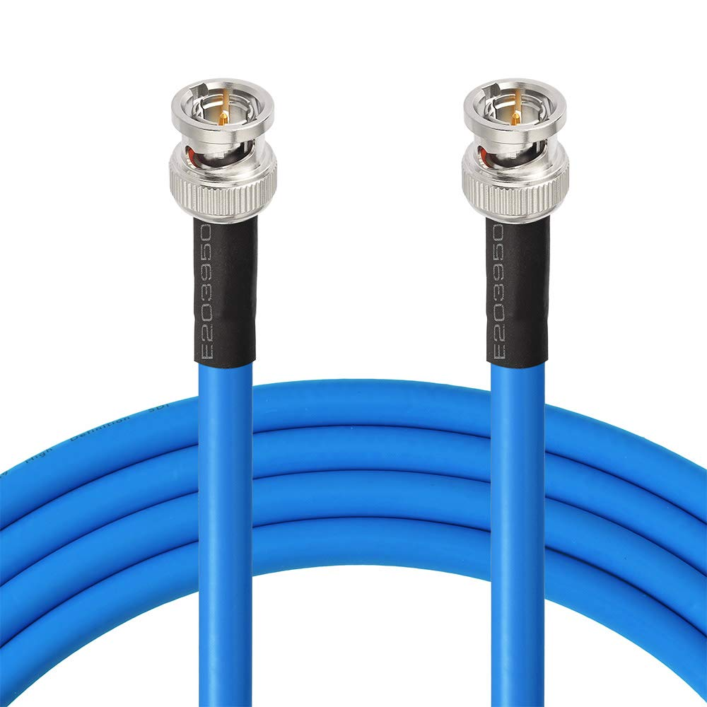 Superbat SDI Cable BNC Cable 3G/6G/12G (Belden 1694A),10FT/15FT/30FT/50FT/100FT/200FT,Supports HD-SDI/3G-SDI/4K/8K,SDI Video Cable Precision Video Cable(1Pcs) by Superbat