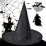 Inked and Screened 6 Pieces Halloween Witch Hat Cap