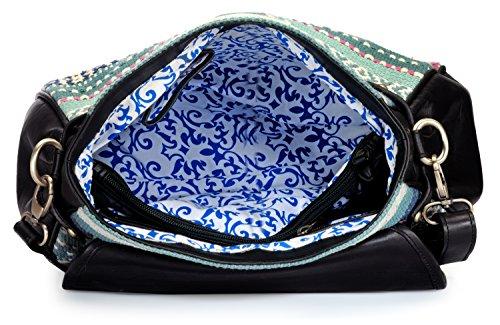 PHIVE RIVERS UK, Borsa a secchiello donna Blu blu