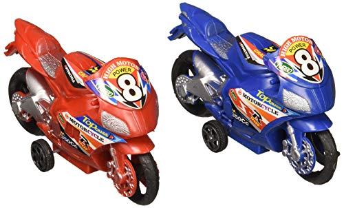 Oasis Supply 4.25 Pullback Motorcycle, Plastic, 12 pcs -