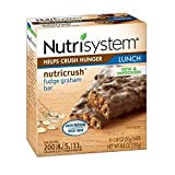 Nutrisystem Fudge Graham Bars 2 Boxes ( 10 Bars)