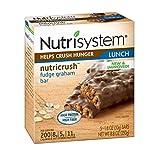 Nutrisystem Fudge Graham Bars 6 Boxes (30 Bars)