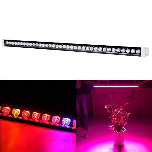 BEAMNONA 108w LED Grow Light Bar for Hydroponic Indoor Plants Growing with Red Blue Spectrum For Sale