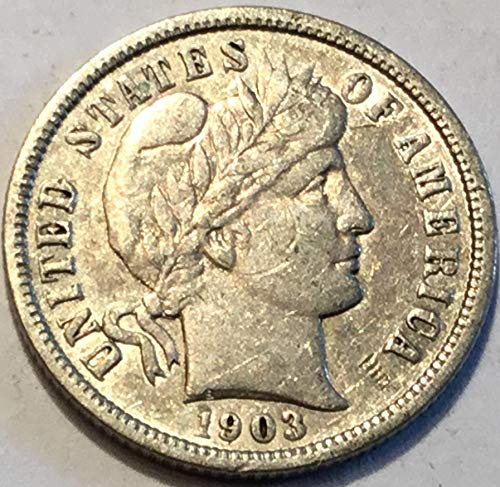 1903 Barber Dime - 1903 Barber Dime Extremely Fine