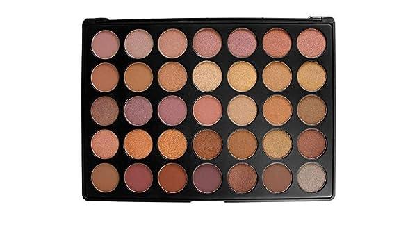 morphe 35 color pigmentada sombras de ojos paleta Reino Unido marca de confianza 35T Taupe: Amazon.es: Belleza