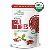 Best Goji Berries - Organic Dried Goji Berries by Alovitox | Raw Review