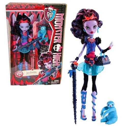 Mattel Year 2013 Monster High Diary Series 11 Inch Doll Set - JANE BOOLITTLE