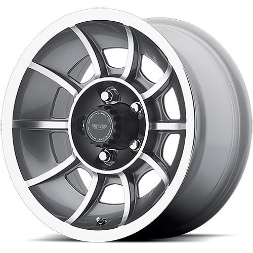 American Racing VN47 Vector Anthracite Wheel with Machined F