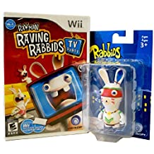 Rayman Raving Rabbids TV Party with Figurine