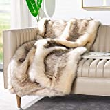 Safavieh Coco Tips Throw Blanket, Taupe