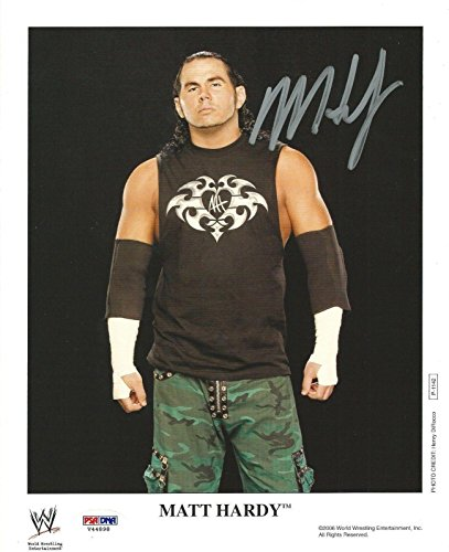10 Photo COA WWE 2006 Promo Picture Autograph TNA - PSA/DNA Certified - Autographed Wrestling Photos ()