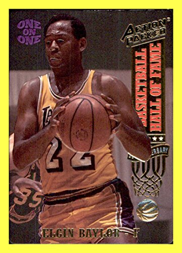 - 1993 Action Packed Hall of Fame #8 Elgin Baylor LOS ANGELES LAKERS IDAHO SEATTLE