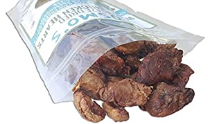 100% Freeze-Dried Raw, Whole Chicken Hearts - Amazing Treat for Dogs and Cats (3 oz)