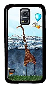 Abovetheclouds Black Hard Case Cover Skin For Samsung Galaxy S5 I9600