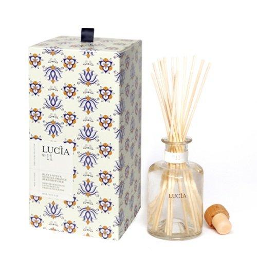 Aromatic Reed Diffuser 200ml-Blue Lotus & Sicilian Orange Pureliving