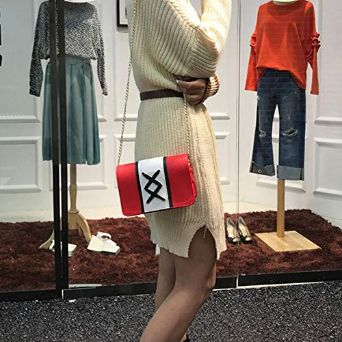 Rectangle Sac Dames Mode Casual Épaule Hit Style Messenger Satchel match À Couleur Main All Crossbody Femmes Lacet Sac qfAgwxp