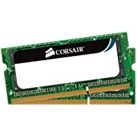 Corsair CMSO8GX3M2A1333C9 8GB (2x 4GB) 1333mhz PC3-10666 204-pin DDR3 SODIMM Laptop Memory Kit 1.5V
