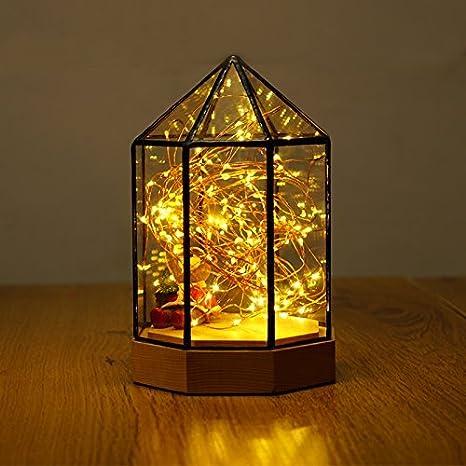 SET Lámpara de Mesa-Lámparas de Cama de Dormitorio de luz de ...