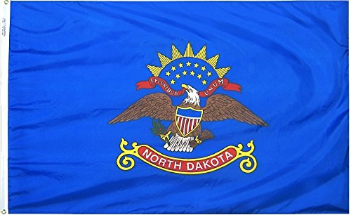 North Dakota – 3′ x 5′ Nylon State Flag Review