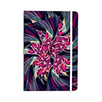 "KESS InHouse Journal Danny Ivan ""Purple Spiral"" Everything Notebook, Pink Geometric (DI1140ANP01)"