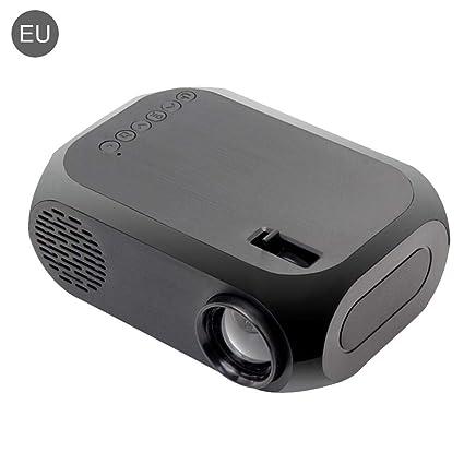 Android Jasbo Tragbarer Mini-Projektor Mini Beamer Projektor ,Pico Projector, Heimprojektor Bluetooth 4.0 HDMI mit direktem Anschluss direkt mit dem Telefon WiFi Miniatur-LED-Projektor f/ür MUL