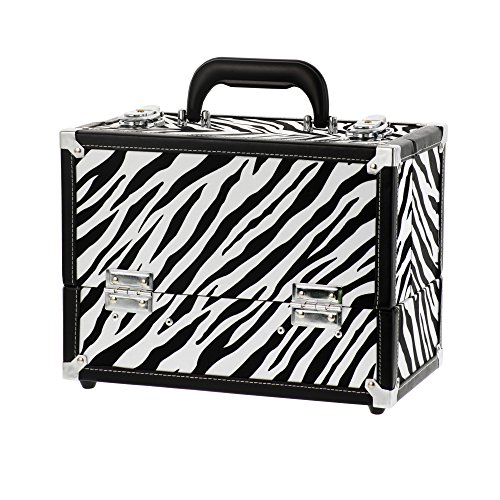 Danielle-Enterprises-Make-Up-Case-Cosmetics-Trunk-Zebra-Print