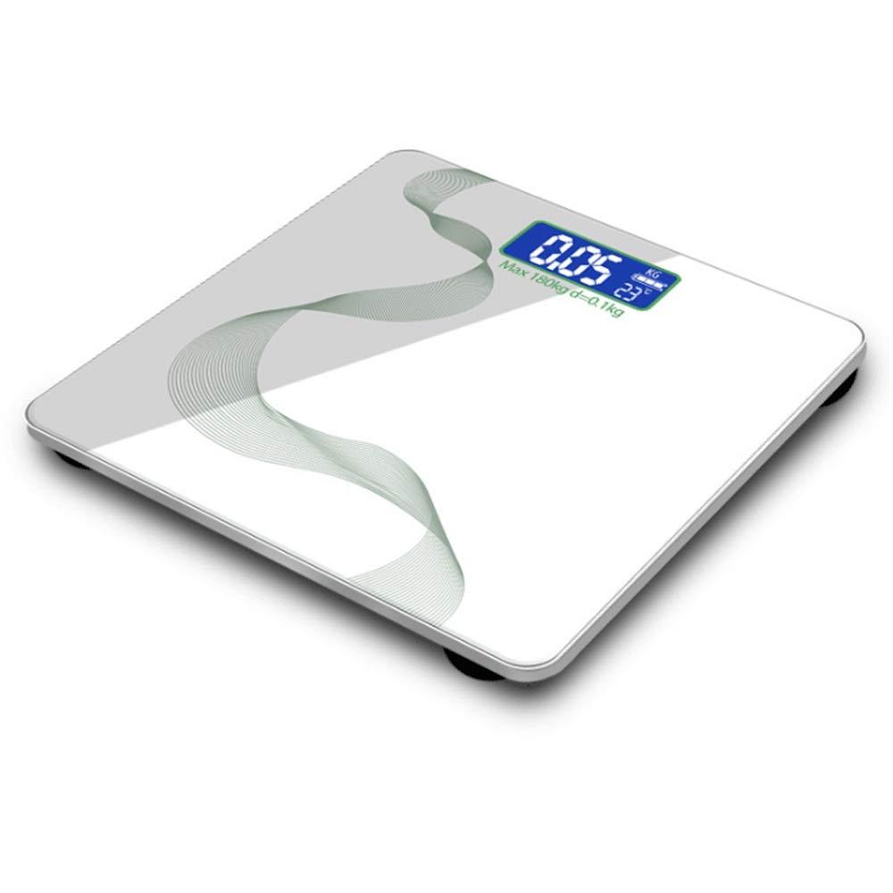 Carga USB Báscula de baño de Peso Corporal Digital Gran Pantalla ...