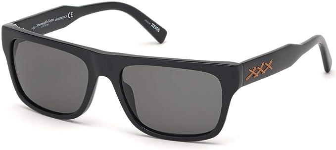 Amazon.com: Gafas de sol Ermenegildo Zegna EZ 0132 Xxx 2 01A ...