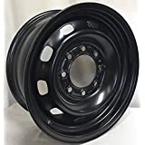 "17"" Dodge Ram 2500 8 Lug Black Steel Wheel Rim 2185 BLK"