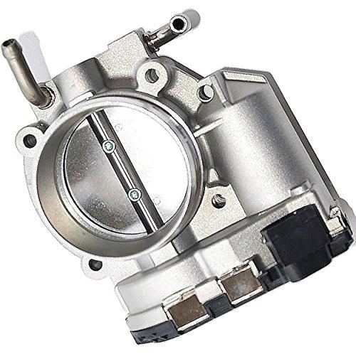 APDTY 140109 Throttle Body Fits 4-Cylinder Engine 2010-2012 Hyundai Sante Fe 06-10 Sonata 10-13 Tucson 10-13 Forte 12-13 Forte5 07-10 Magentis 06-10 Optima 07-11 Kia Rondo 11-13 Sorento or ()