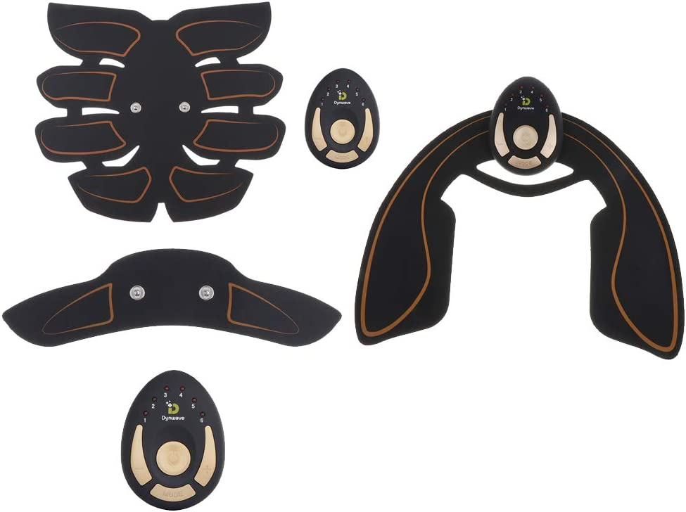 Injoyo Kit de Electrostimulation Abdominale et Bras Entra/înement Abdominal pour Abdomen//Bras//Jambes