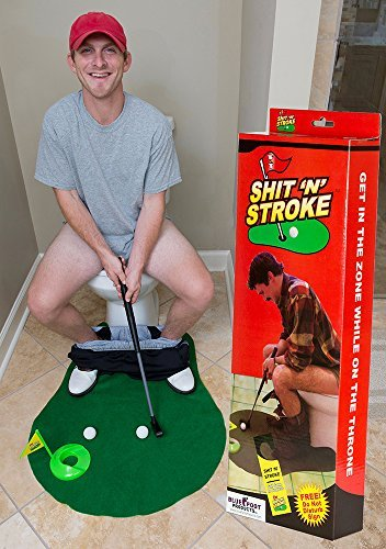 Shit Stroke Potty Putter Bathroom product image
