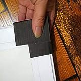 T Tulead Black Cardboard Corner Protectors