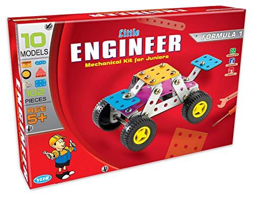 Lodestone #39;s Mechanical Toys   Little Engineer, Mechanical Kit for Juniors   Formula 1