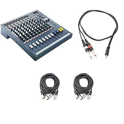 Amazon.com: Soundcraft Consola EPM8 8 canales de audio de ...