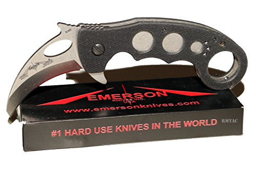 Emerson Combat Karambit Flipper SF & BT Models (Satin Finish Blade)
