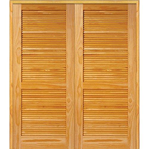 Pine Louver Doors - 9