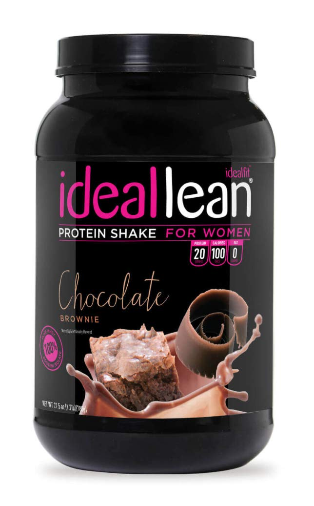 Ideallean Nutritional Protein Powder For Women 20g Whey Protein Isolate Supports Weight Loss