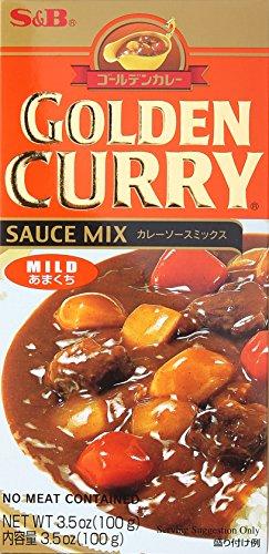 S & B Sauce Mix Mild Golden Curry, 3.2 oz