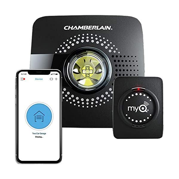 Chamberlain MyQ Smart Garage Door Opener MYQ-G0301 - Wireless & Wi-Fi enabled Garage Hub with Smartphone Control, 1 Pack… 1