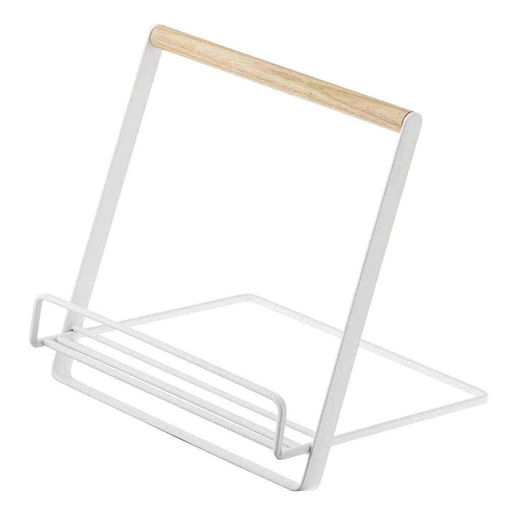 YCYG Folder, Metal mesh, Magazine Storage Box, File cla Storage Rack Tablet Rack, Storage Rack Shelf Box Organizer Metal Magazine Rack File Holder Desk Tidy Book Shelf Stand Desktop File Management by YCYG