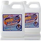 Professor Amos SuperFast 2-Pack -32oz [Drain Cleaner] & [Drain Opener] [Liquid] [Hair Dissolve] [Grease] [Buildup] [Drain Clog] [Remover]