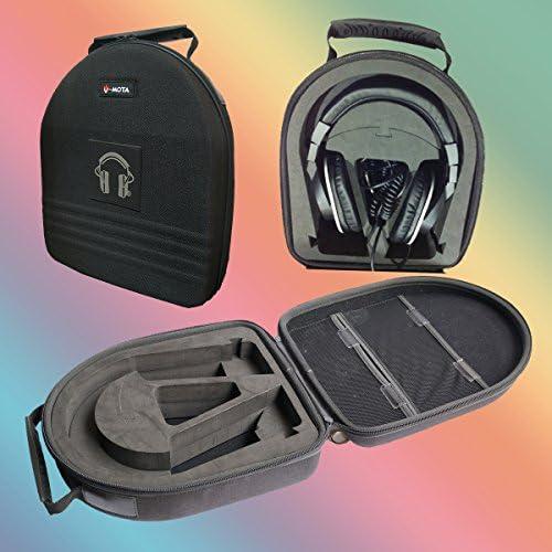 v-mota TDGヘッドホンスーツケースキャリーケースBoxs for Sony MDR - 7506mdr-cd900stイヤーパッドmdr-7509mdr-1r - 1a mdr-10r mdr-1000X mdr-v900mdr-v600(ヘッドセットスーツケース)